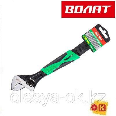 Ключ разводной 200 мм ВОЛАТ (раскрытие губок 25 мм)