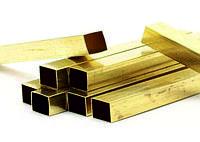 Труба профильная бронзовая 105х85х10,0 мм БрАЖМц10-3-1.5 ГОСТ 1208-2014 прессованная