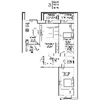 3 комнатная квартира в ЖК Мадрид 84.59 м², фото 1