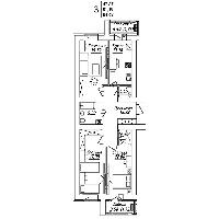 3 комнатная квартира в ЖК Мадрид 84.69 м², фото 1
