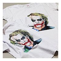 Прямая печать на белую футболку, А5 А4 А3 размер печати. Оптом и в розницу