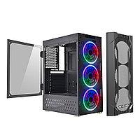 Корпус Wintek Wisdom K165 TG, ATX/Micro ATX