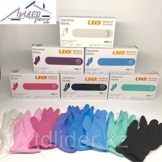 Перчатки нитриловые UNEX, XS