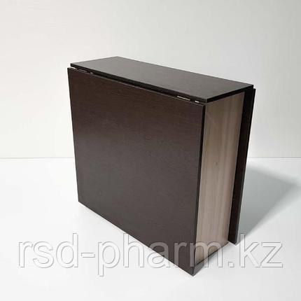 Стол-книжка (венге темный/шимо светлый), фото 2
