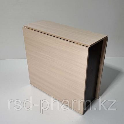Стол-книжка (шимо светлый - венге темный), фото 2