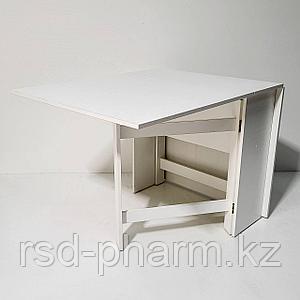 Стол-книжка (белый текстурный)