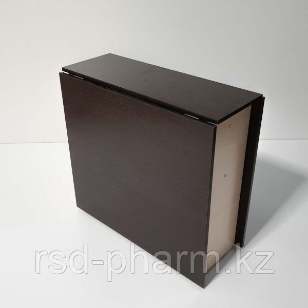 Стол-книжка (венге темный - дуб молочный) - фото 3
