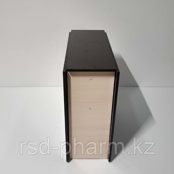 Стол-книжка (венге темный - дуб молочный) - фото 2