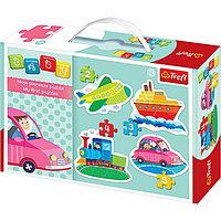 "Пазлы для малышей ""Машины"" — Trefl, фото 1"