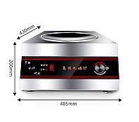Промышленная индукционная плита 5 кВт, настольная, глубокая, фото 1