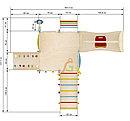 Игровой чердак для дома 10 с качелей, фото 6
