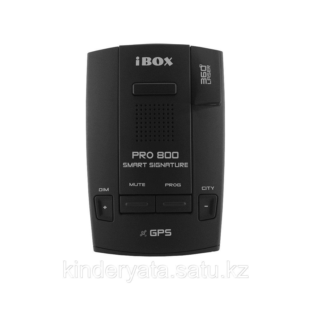 Радар-детектор IBOX Pro 800 Signature черный