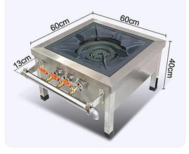 Газовая плита 1-конфорка, 3 регулятора огня