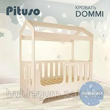 PITUSO Подростковая кровать домик DOMMI Ваниль J-505 165*850*175 см
