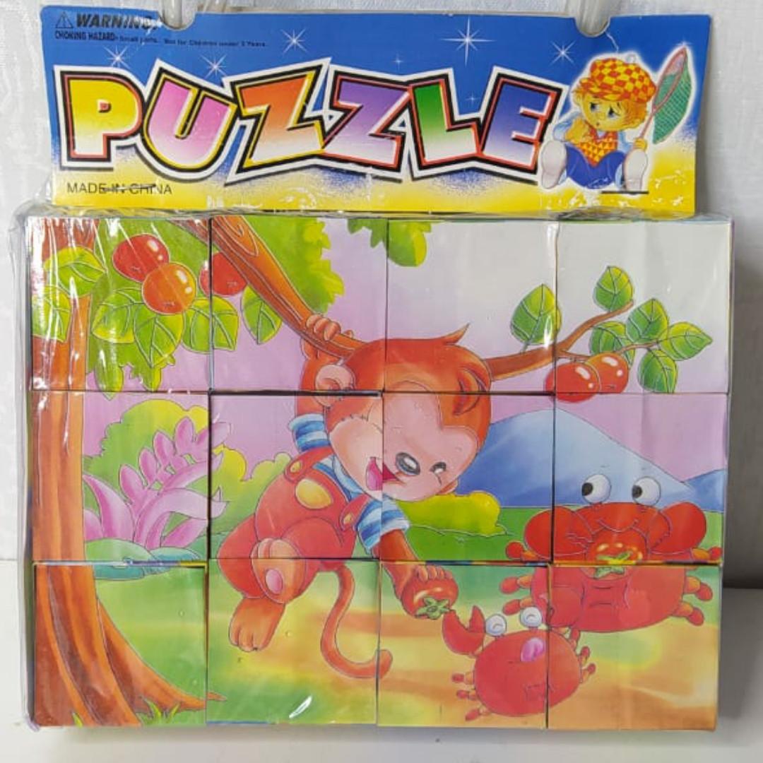 Пазлы кубики