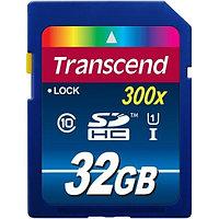 Карта памяти Secure Digital 32 GB Transcend, Class 4, TS32GSDHC4