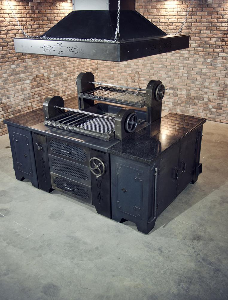 Мангал на древесном угле УМБ(2) Grill Master