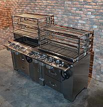Многофункциональный угольный мангал УММ/2 (ROBATA 2) Grill Master