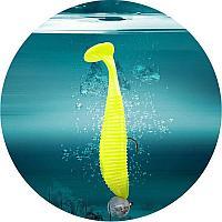 Виброхвосты съедобные плавающие Lucky John Pro Series JOCO SHAKER 3.5in (140302-F04=(08.89)/F04 4шт.)