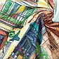 Скатерть «Этель: Италия», 180 × 150 см, хлопок 100 %, саржа, 190 г/м², фото 9