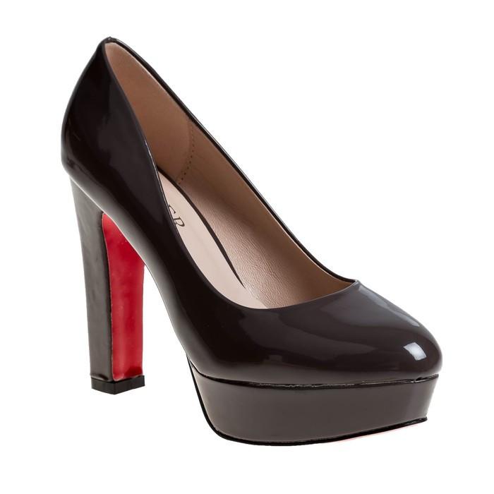 Туфли женские, цвет серый, размер 36