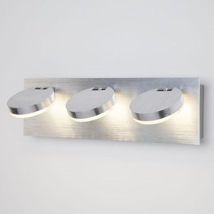 Светильник Cover 15Вт LED алюминий 32x8x12см