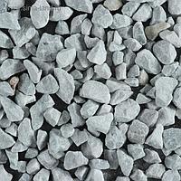 Мраморный щебень серый, фракция 10-20, 10 кг