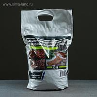 Мраморный щебень коричневый, фракция 5-10, 10 кг