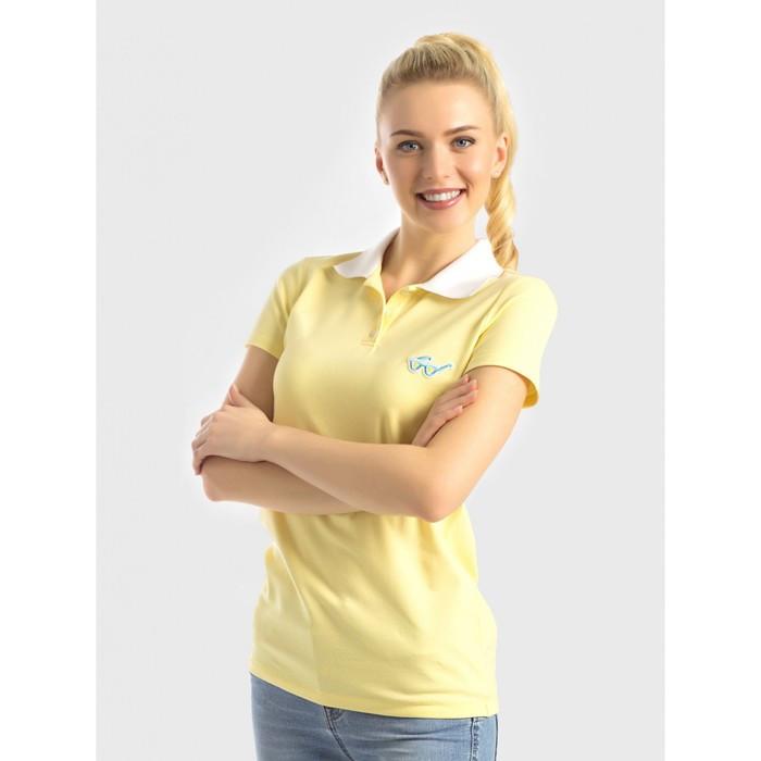 Джемпер женский, размер 44, рост 170 см, цвет жёлтый