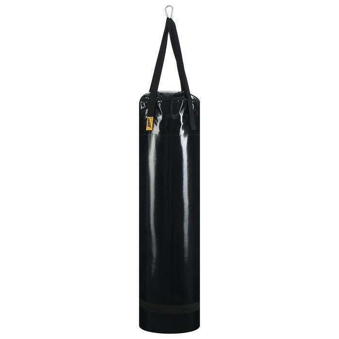 Мешок боксерский на ременной ленте 40кг , цвет черный