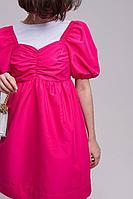 Женское летнее розовое платье AIRIN 2476/1 42р.