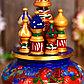 """Сувенир музыкальный """"Храм.Тройка"""", 19х15,5 см, синяя, фото 2"""