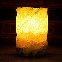 """Соляная лампа """"Феерия Воздух"""", цельный кристалл, 19 см"""