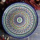 Ляган круглый Риштанская Керамика 55см, фото 2