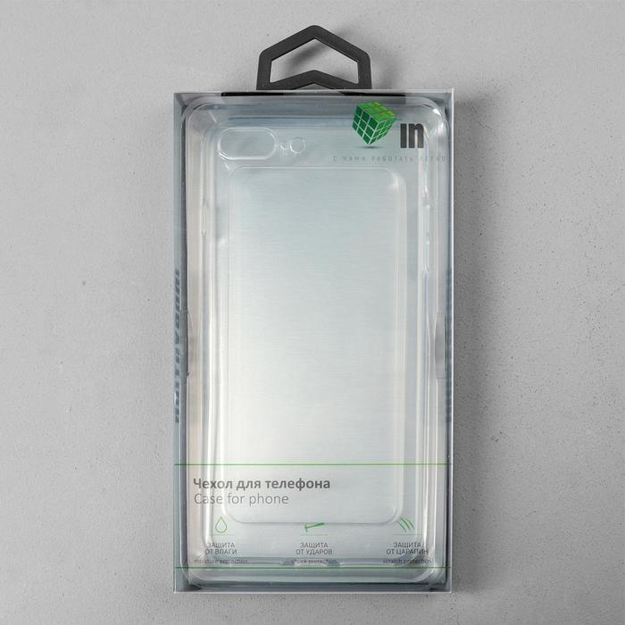 Чехол Innovation, для iPhone 7 Plus/8 Plus, силиконовый, прозрачный - фото 4