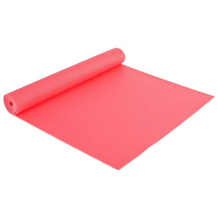 Коврик для йоги 173 х 61 х 0,3 см, цвет красный - фото 1