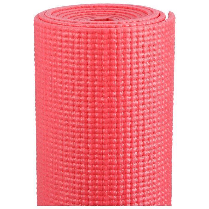 Коврик для йоги 173 х 61 х 0,3 см, цвет красный - фото 3
