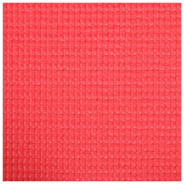 Коврик для йоги 173 х 61 х 0,3 см, цвет красный - фото 5
