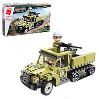 Конструктор Военная зона «Штурмовой грузовик», 2 минифигуры и 113 деталей