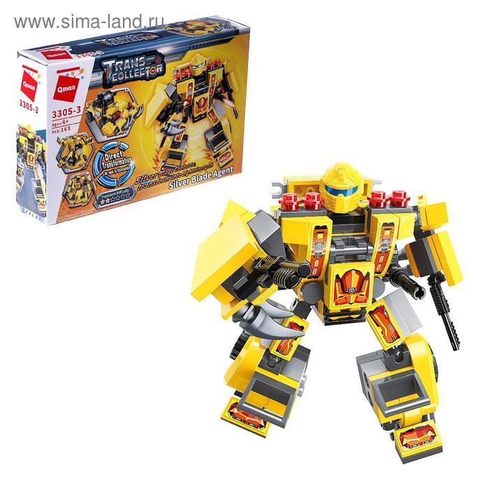 Конструктор Робот «Трансформер», 4 вида МИКС - фото 1