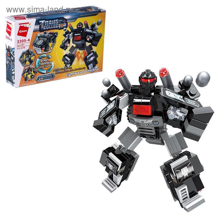 Конструктор Робот «Трансформер», 4 вида МИКС - фото 2