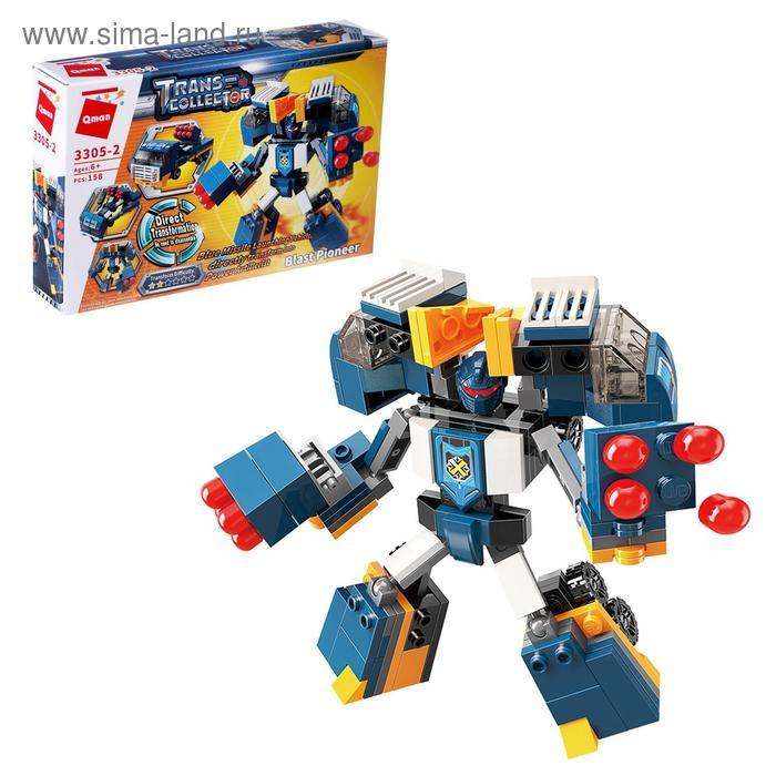 Конструктор Робот «Трансформер», 4 вида МИКС - фото 3