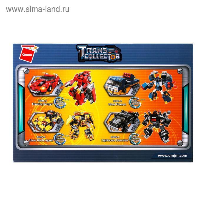 Конструктор Робот «Трансформер», 4 вида МИКС - фото 6