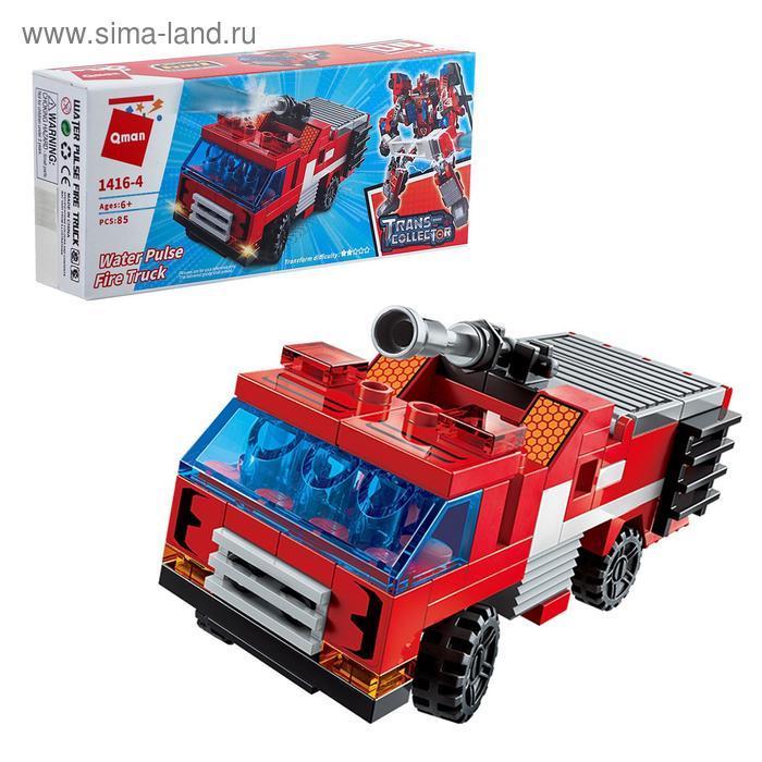 Конструктор Робот «Трансформер-пожарный», 6 видов, МИКС - фото 4