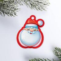 Шильдик на подарок «Дедушка Мороз», 5 × 6 см