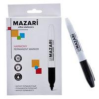Маркер перманентный 2.0 мм, Harmony, чёрный, М-5001 (комплект из 12 шт.)