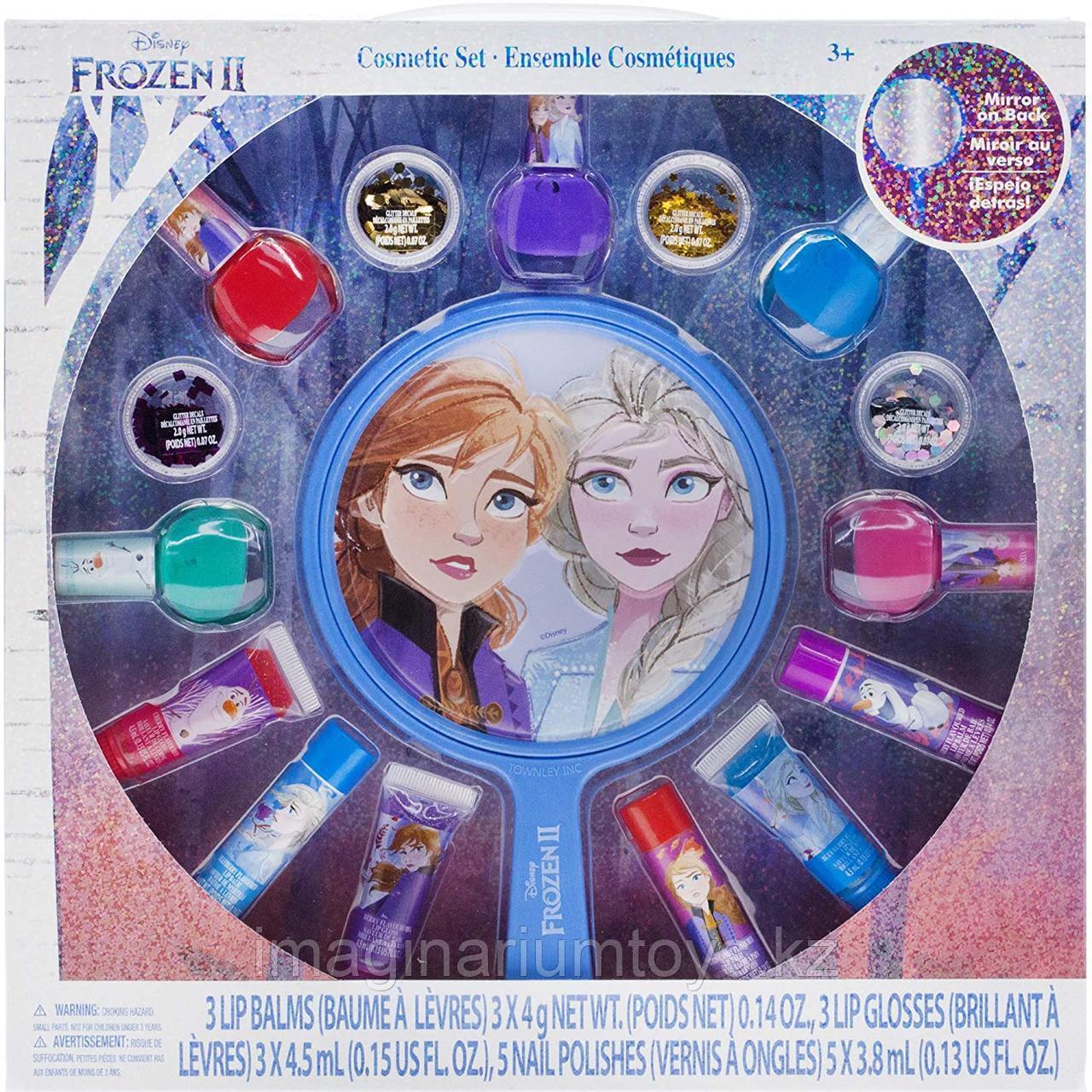 Детская декоративная косметика для девочек Frozen 16 предметов Townley