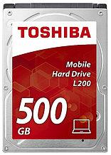"TOSHIBA HDWK105UZSVA Жесткий диск для ноутбука 1TB SATA 500ГБ Slim (7mm) 2,5"" 5400RPM 8MB SATA-III"