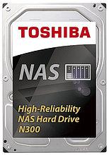 "Toshiba HDWN160UZSVA Жесткий диск N300 6Tb, High-Reliability Hard Drive, 3,5"" 7200RPM 128MB SATA-III"