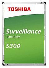 "Toshiba HDWT380UZSVA Жесткий диск Surveillance S300 8TB 3,5"" 7200RPM 256MB SATA-III"
